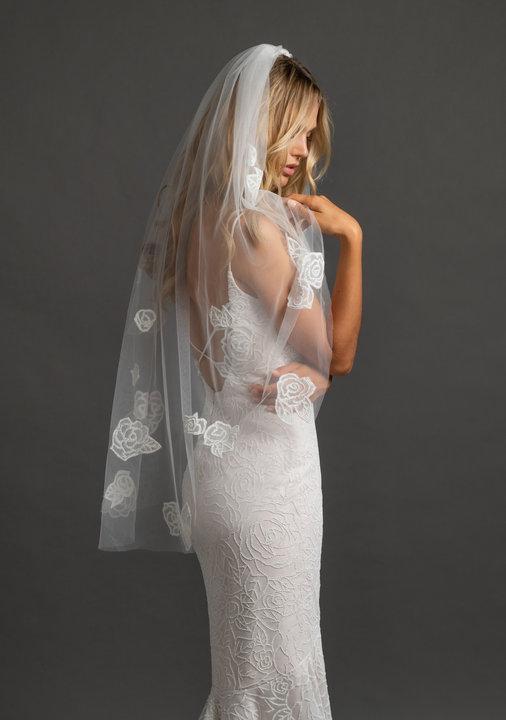 Hayley Paige Style Sugar Rose Veil