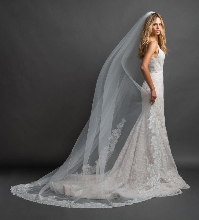 Hayley Paige Style Labyrinth Veil