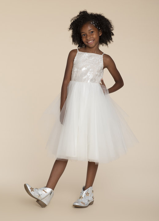 La Petite by Hayley Paige Style 52022 Della Flower Girl Dress