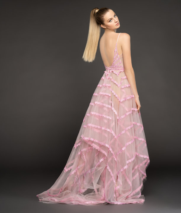 Hayley Paige Red Carpet Style Frenchie Gown