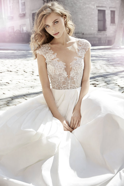 Jim Hjelm by Hayley Paige Style 8704 Bridal Gown