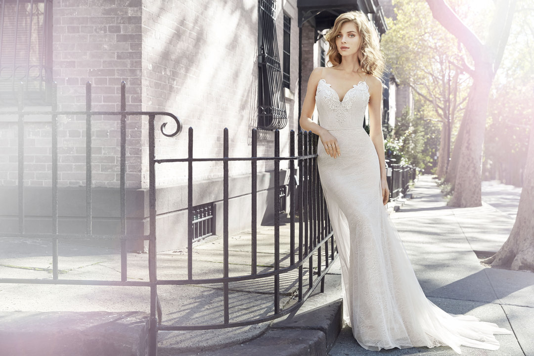 Jim Hjelm by Hayley Paige Style 8705 Bridal Gown