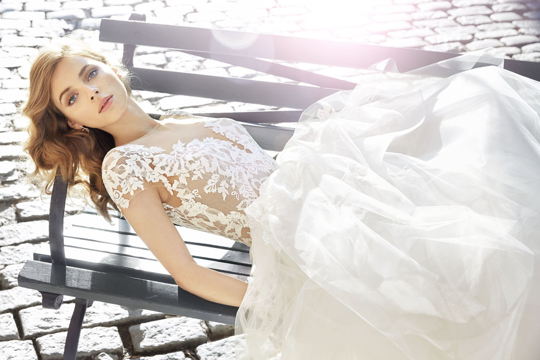 Jim Hjelm by Hayley Paige Style 8710 Bridal Gown