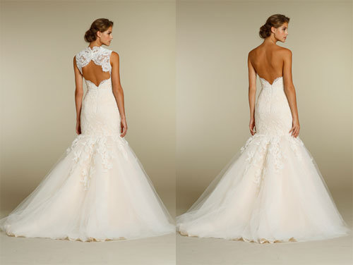 Style 8214  Back Views
