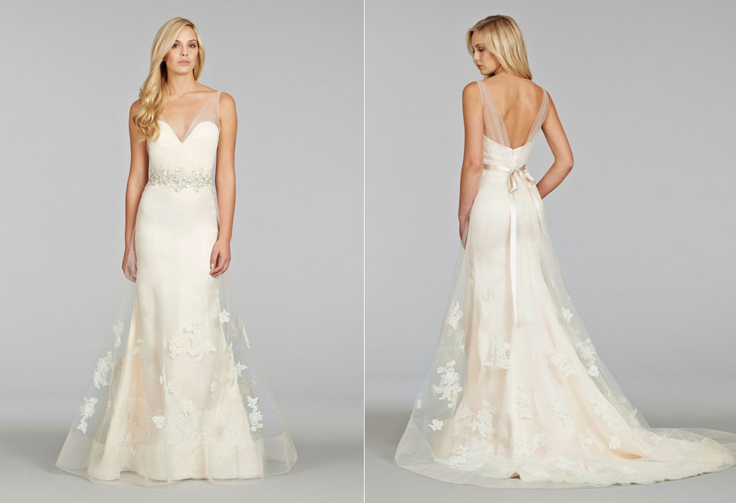 Bridal gowns and wedding dresses by jlm couture style 8413 for Jim hjelm wedding dresses