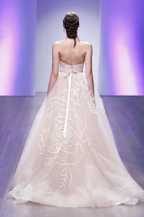 Jim Hjelm by Hayley Paige Style 8500 Bridal Gown