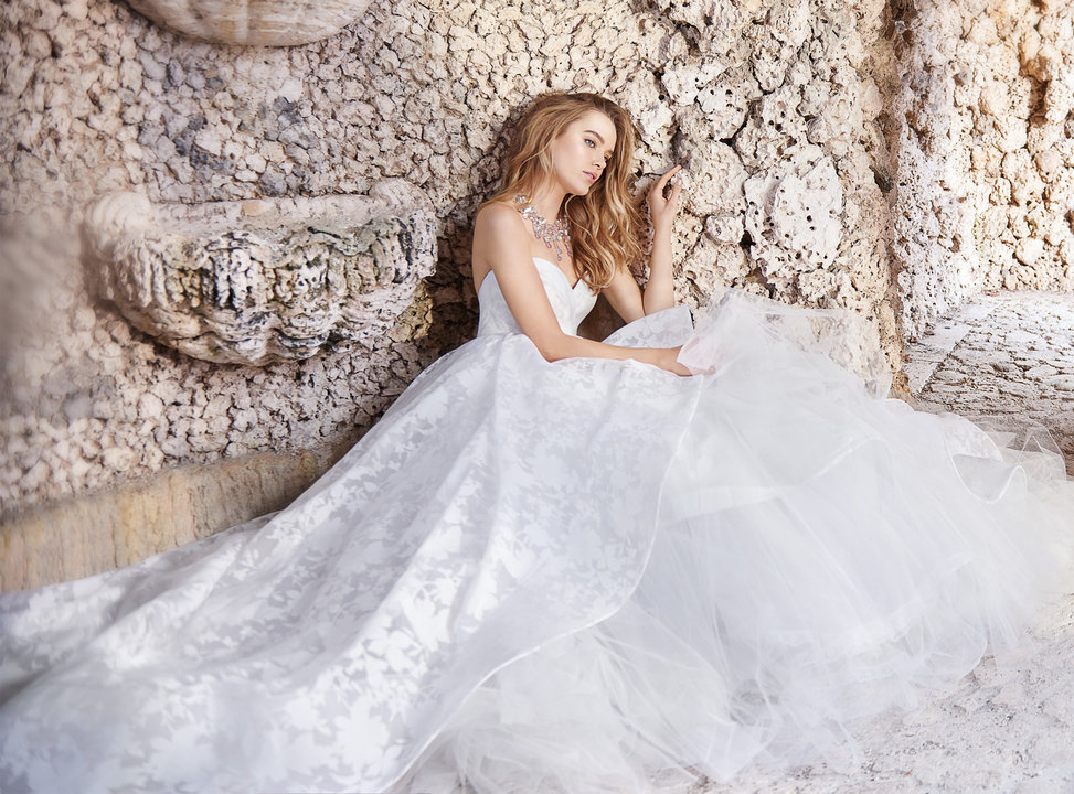 Jim Hjelm by Hayley Paige Style 8506 Bridal Gown