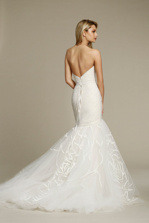 Jim Hjelm by Hayley Paige Style 8551 Bridal Gown