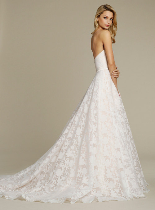 Jim Hjelm by Hayley Paige Style 8556 Bridal Gown