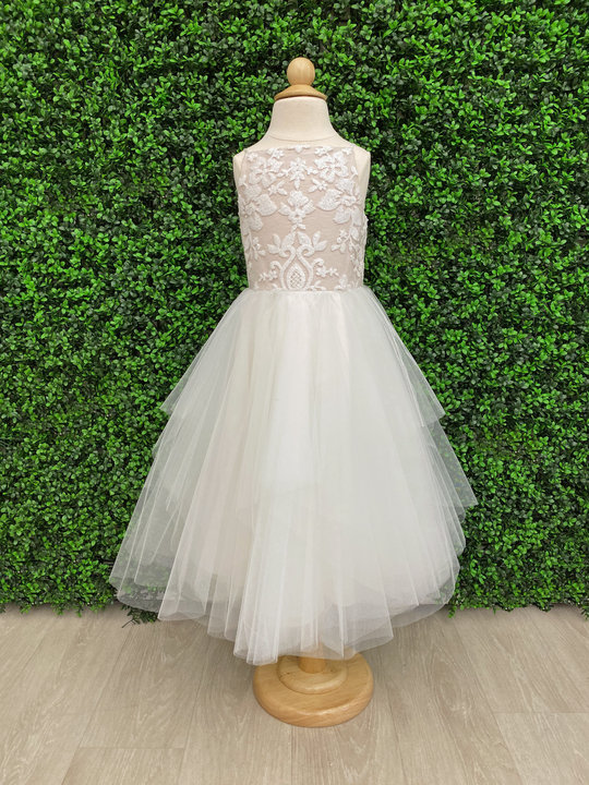 La Petite by Hayley Paige Style 52024 Payton Flower Girl Dress