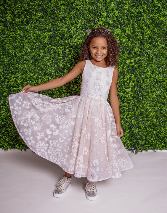 La Petite by Hayley Paige Style 5822 Eloise Flower Girl Dress