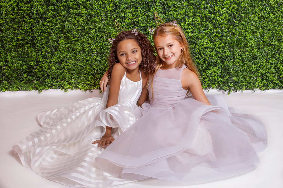 La Petite by Hayley Paige Style 5824 Zazie Flower Girl Dress
