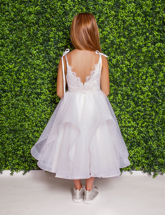 La Petite by Hayley Paige Style 5825 Lillian Flower Girl Dress