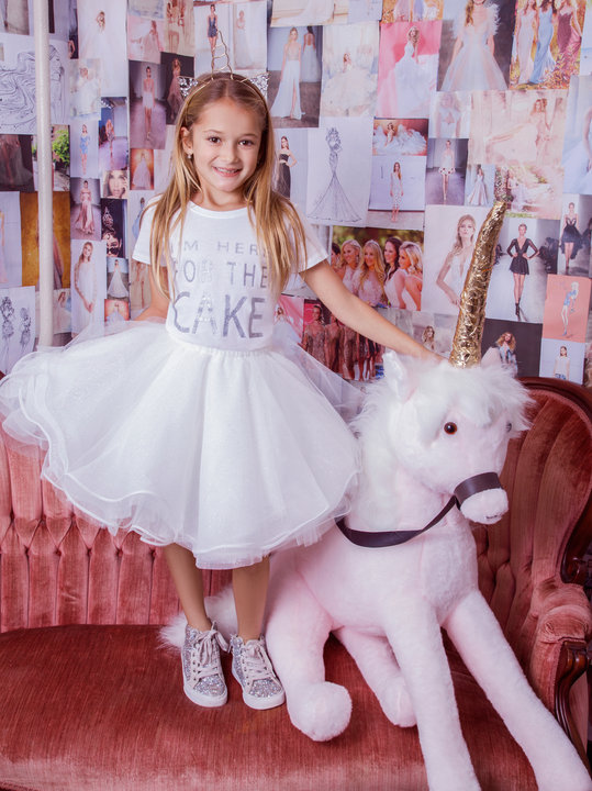 La Petite by Hayley Paige Style 5826 Flower Girl Dress