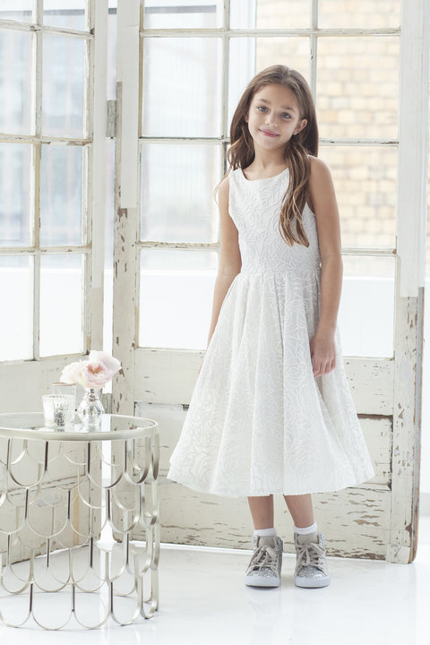La Petite by Hayley Paige Style 5926 Rosey gown