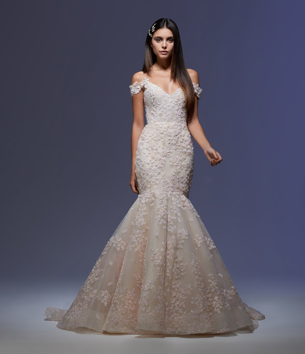 Lazaro Style 32000 Ines Bridal Gown