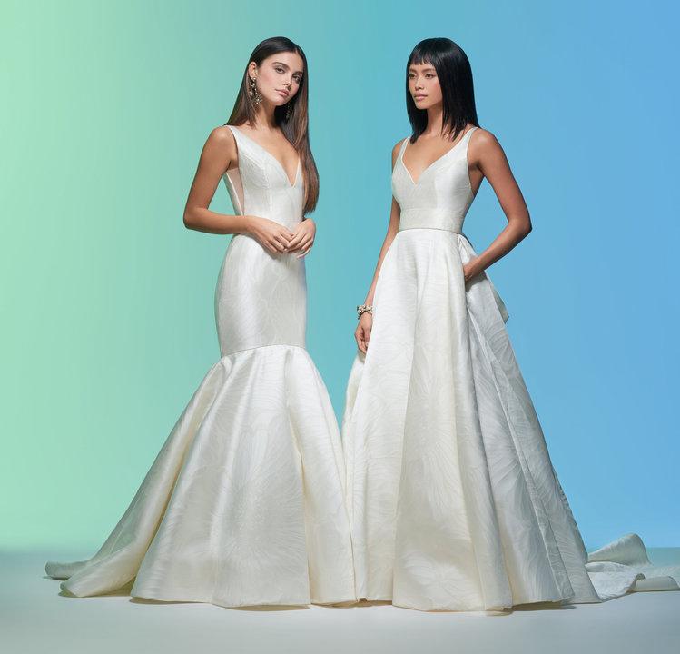 Lazaro Style 32005 Audrey Bridal Gown