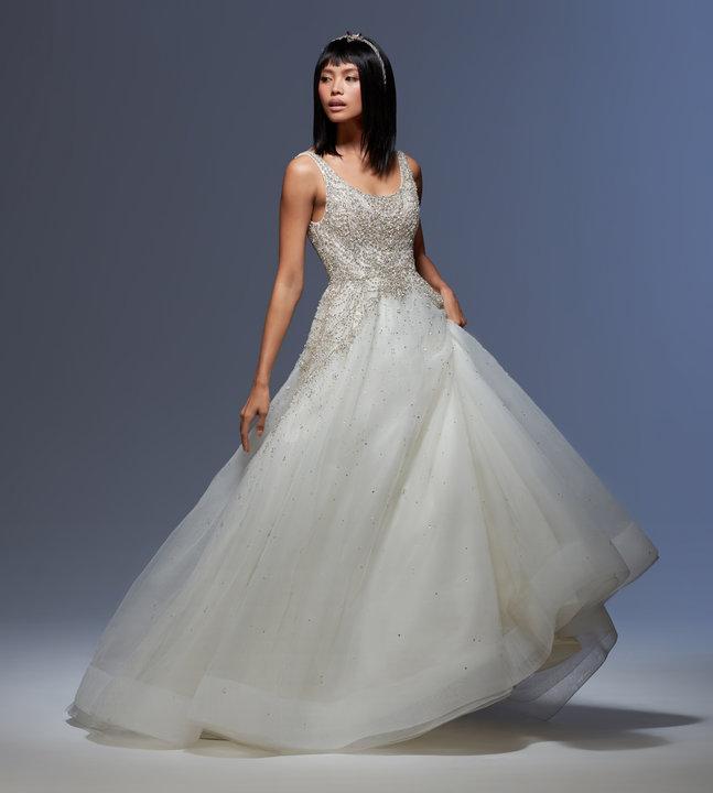 Lazaro Style 32008 Sylvia Bridal Gown