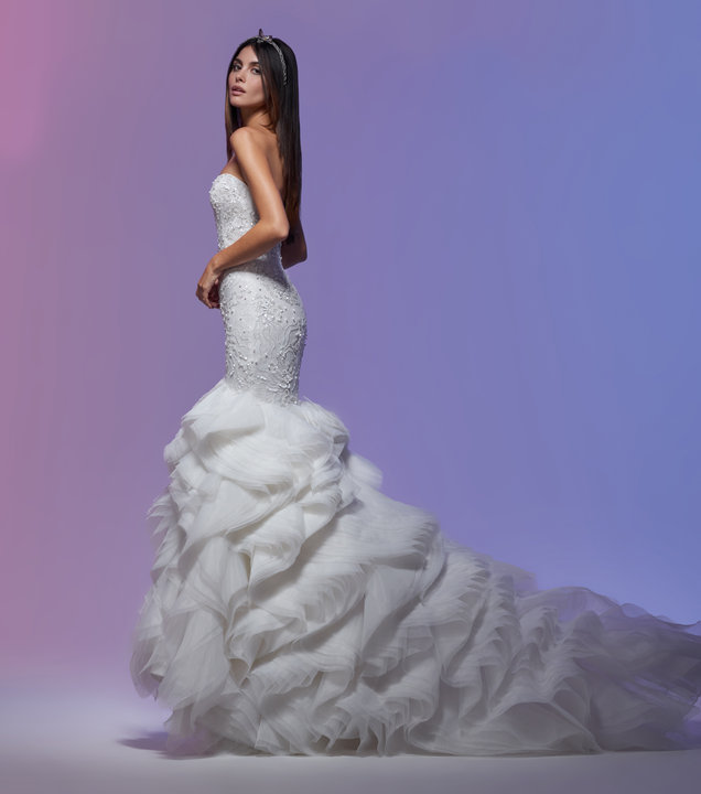 Lazaro Style 32014 Stephanie Bridal Gown