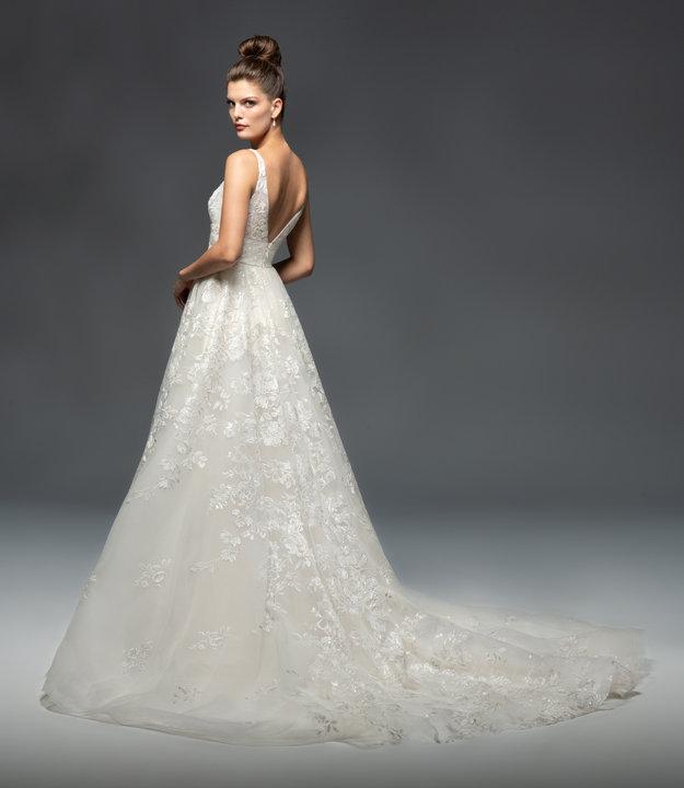 Lazaro Style 32101 Adelaide Bridal Gown
