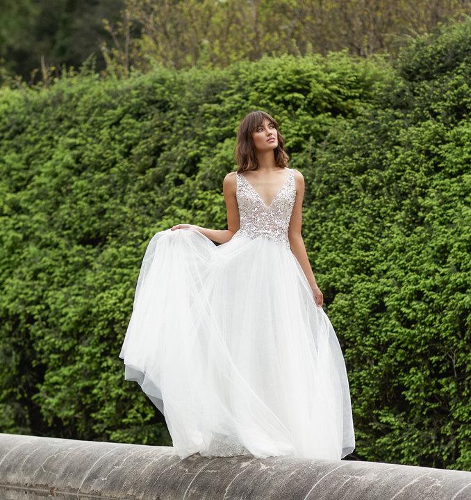 Lazaro Style Ashlyn 32154 Bridal Gown
