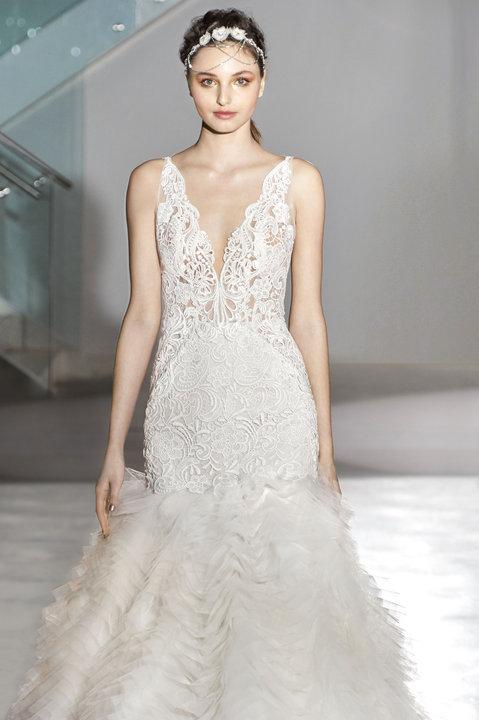 Lazaro Style 3650 Bridal Gown