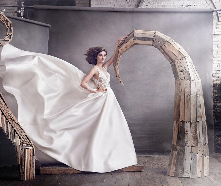 Lazaro Style 3658 Bridal Gown
