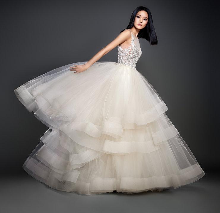 Lazaro Style 3708 Bridal Gown