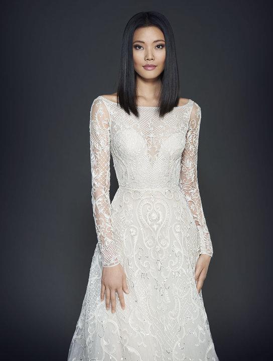 Lazaro Style 3709 Bridal Gown