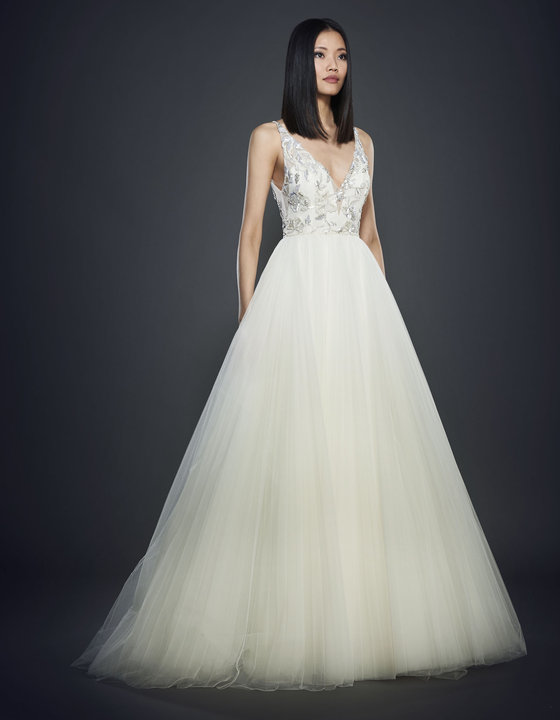 Lazaro Style 3712 Bridal Gown