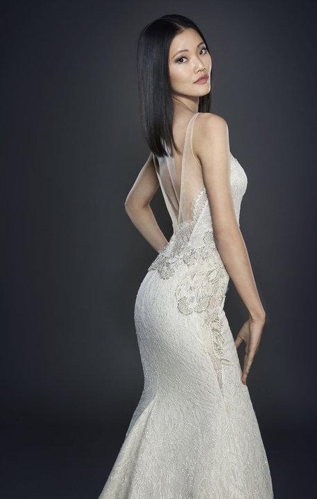 Lazaro Style 3715 Bridal Gown