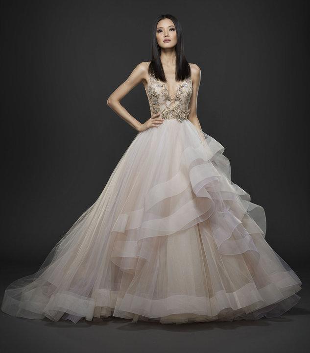 Lazaro Style 3755 Bridal Gown