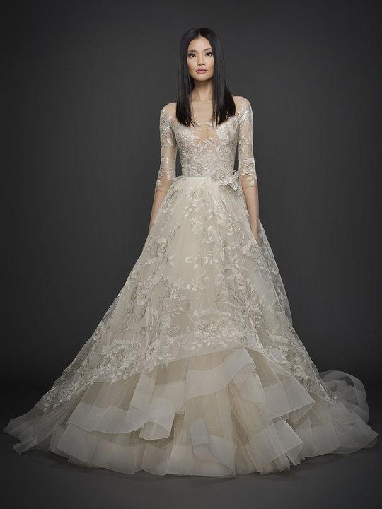 Lazaro Style 3758 Bridal Gown