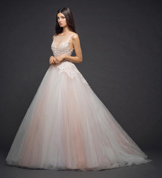 Lazaro Style 3807 Bridal Gown