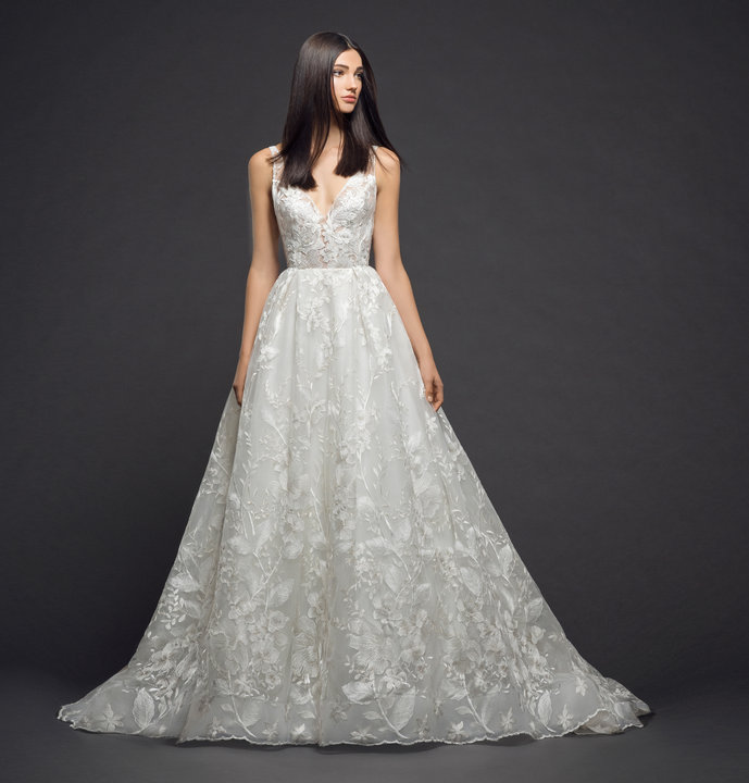 Lazaro Style 3812 Bridal Gown Front