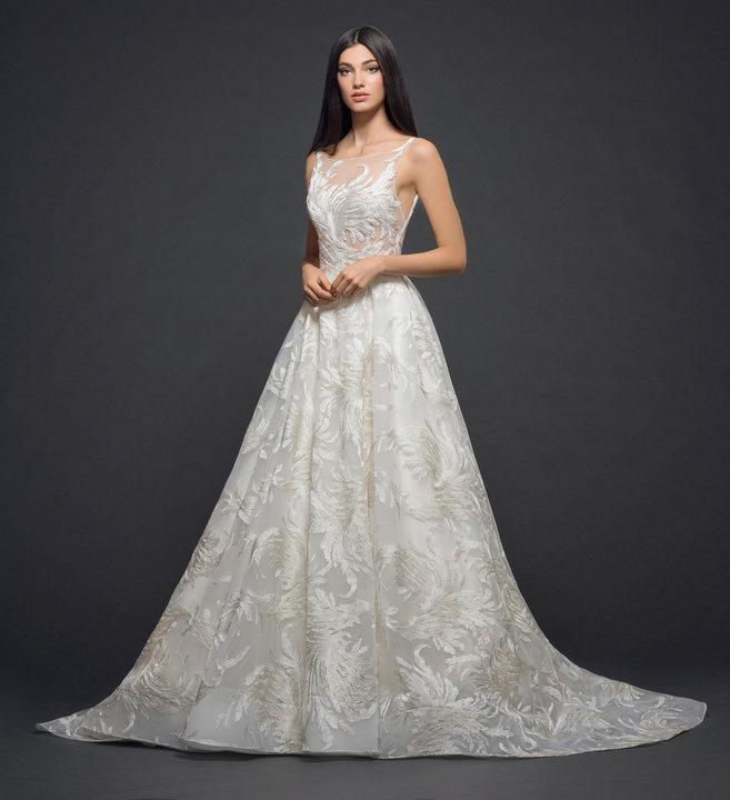 Lazaro Style 3817 Bridal Gown