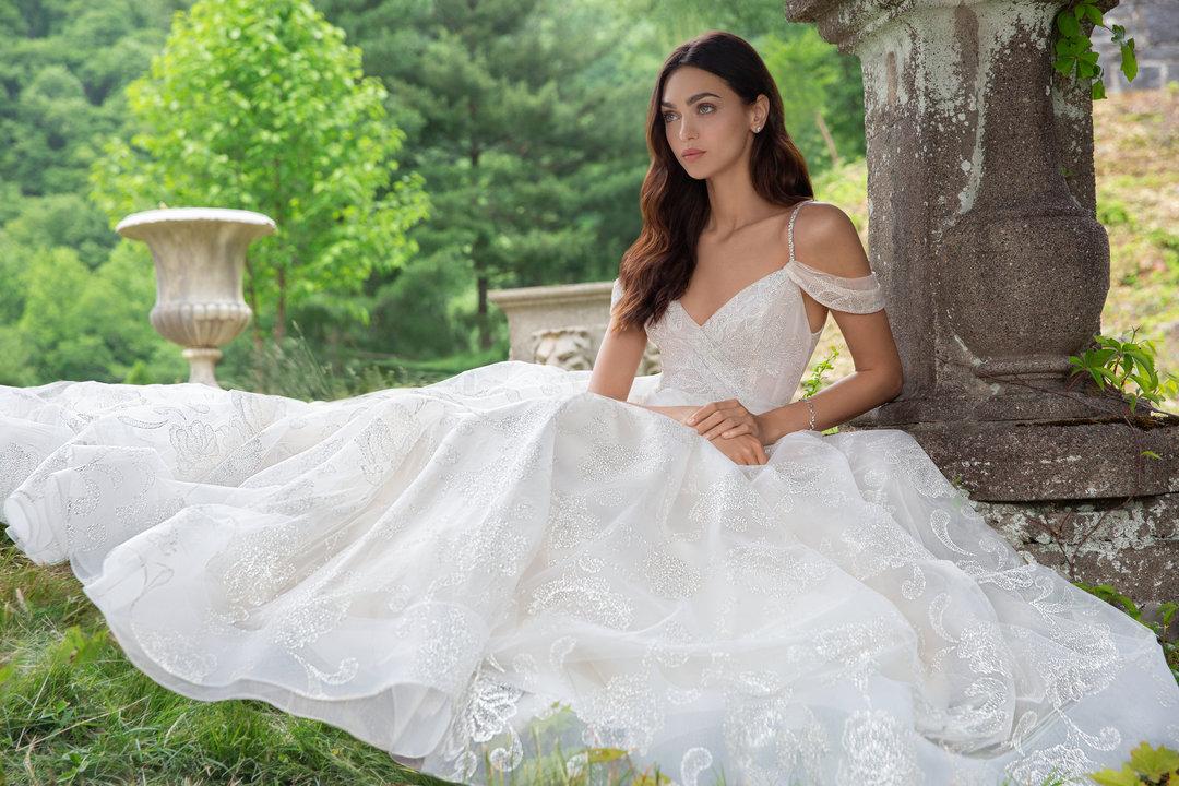 Lazaro Style 3850 Emma Bridal Gown