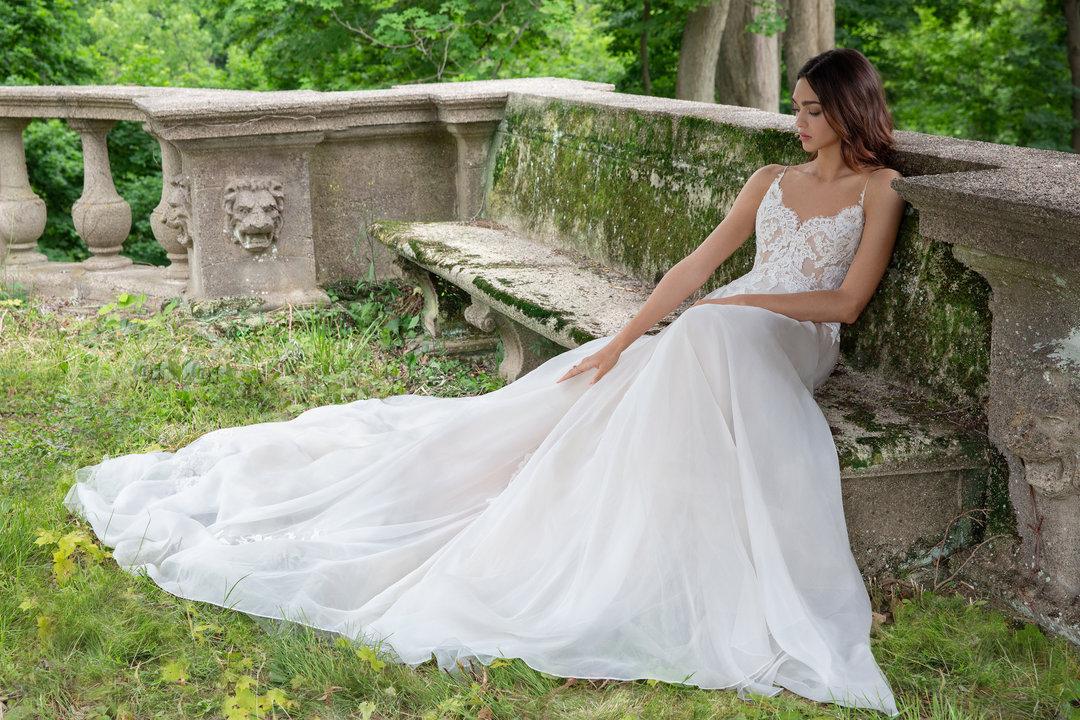 Lazaro Style 3860 Vanessa Bridal Gown