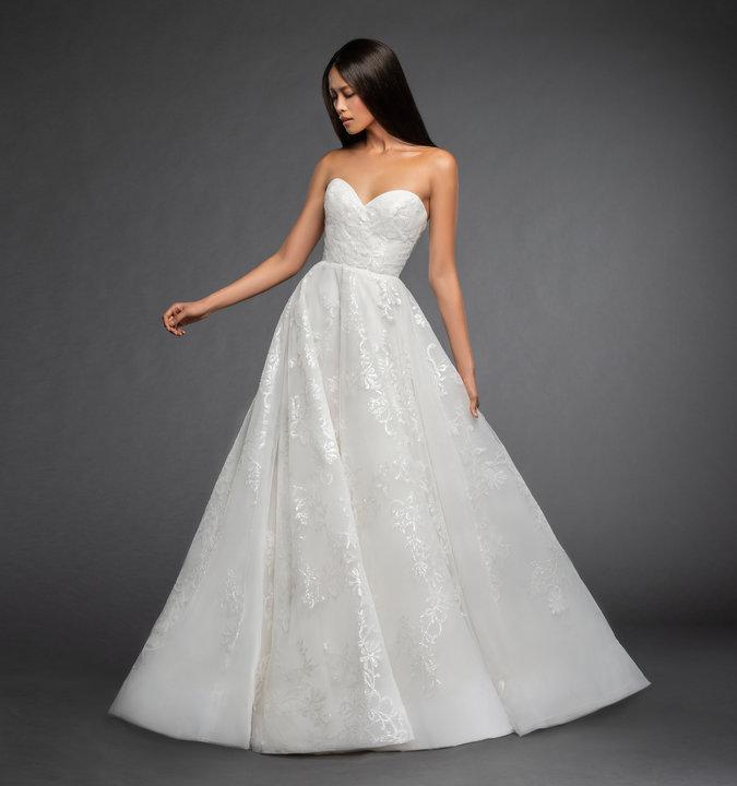 Lazaro Style 3865 Anna Bridal Gown