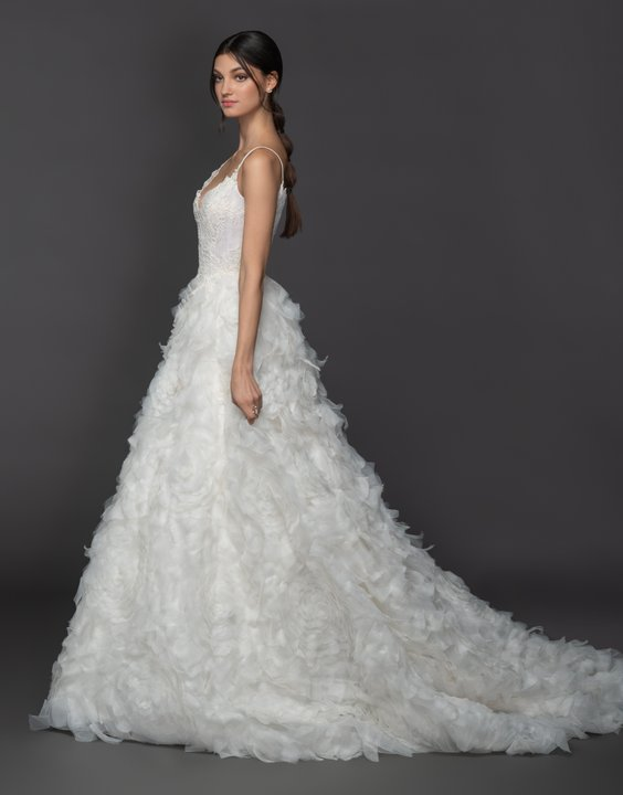 Lazaro Style 3950 Gardenia Bridal Gown