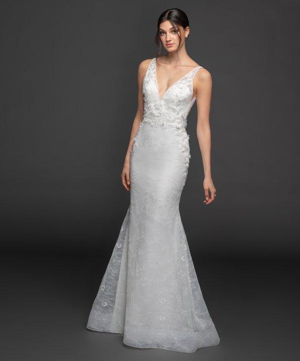 Lazaro Style 3951 Garland Bridal Gown