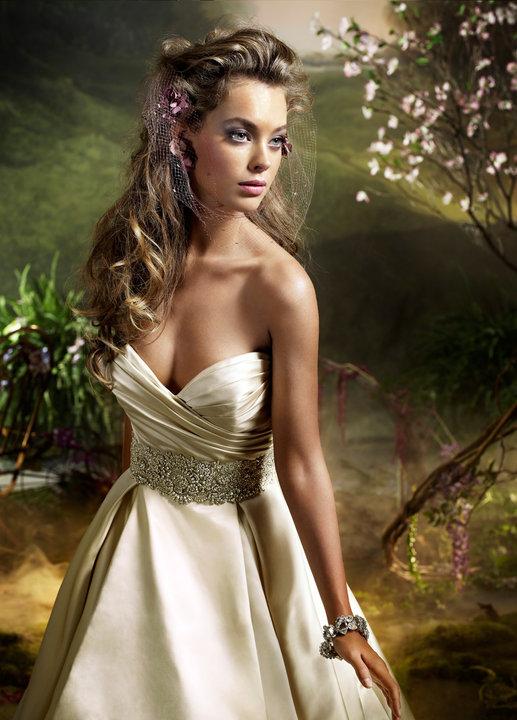 Lazaro Style 3018 Bridal Gown
