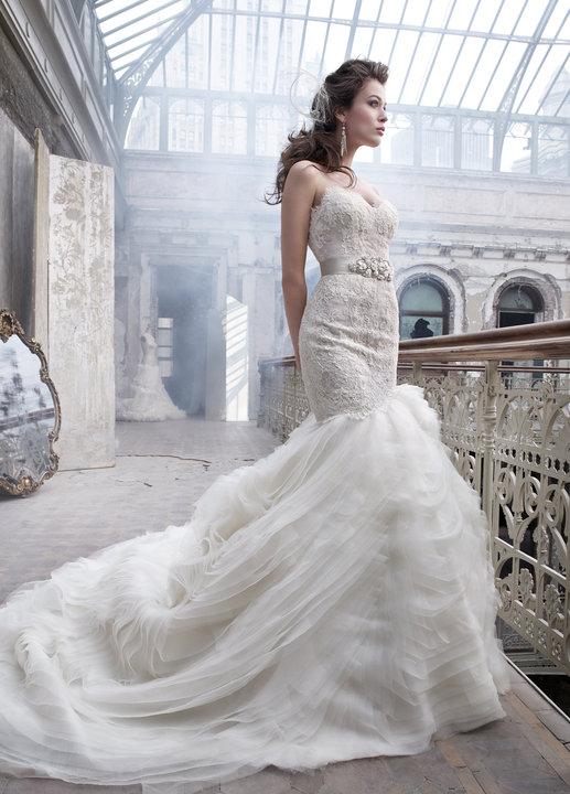 Lazaro Style 3201 Bridal Gown