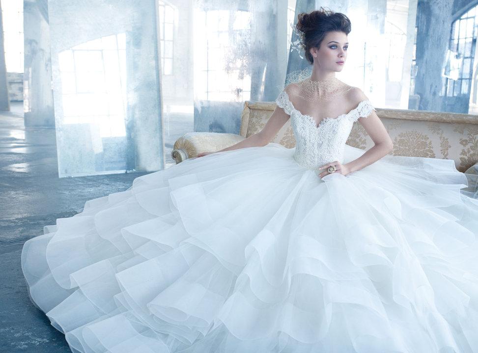 Lazaro Style 3309 Bridal Gown