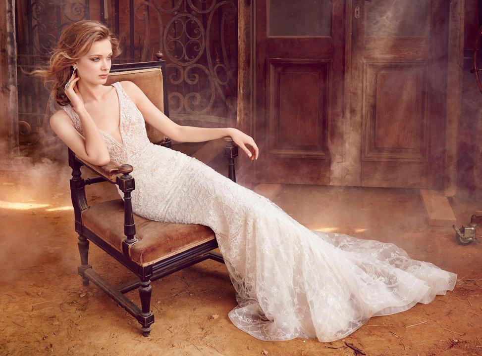 Lazaro Style 3558 Bridal Gown