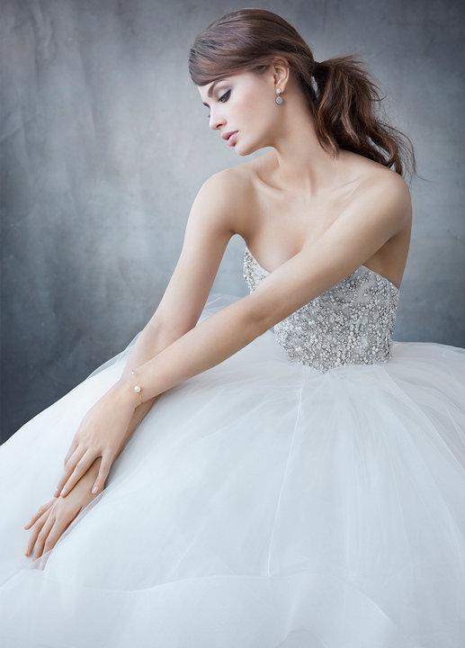 Lazaro Style 3608 Bridal Gown