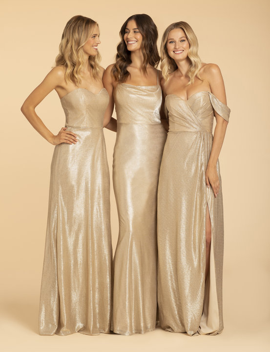 Hayley Paige Occasions Style 52002 Bridesmaids Gown