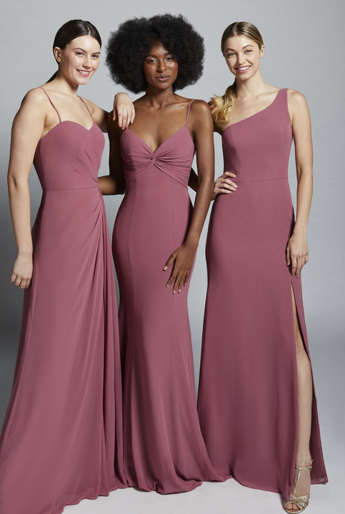 Hayley Paige Occasions Style 52153 Bridesmaids Gown
