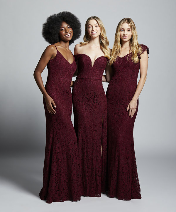 Hayley Paige Occasions Style 52157 Bridesmaids Gown