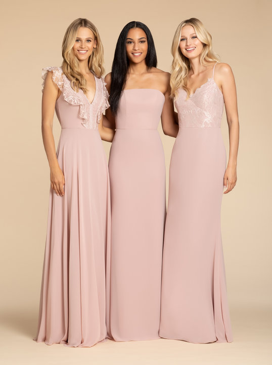 Hayley Paige Occasions Style 5906 Bridesmaids Gown